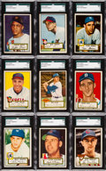 Baseball Cards:Sets, 1952 Topps Baseball Low Number Complete Run (310). ...