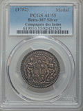 Betts Medals, Betts-387. 1752 West Indies Company; Louis XV Franco-AmericanJeton. Silver. AU55 PCGS. ...