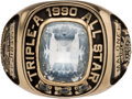 Baseball Collectibles:Others, 1990 Triple A Baseball All-Star Game Ring. ...