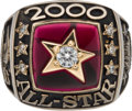 Baseball Collectibles:Others, 2000 Major League Baseball All-Star Game Ring - American League....