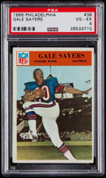Football Cards:Singles (1960-1969), 1966 Philadelphia Gale Sayers #38 PSA VG-EX 4....
