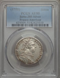 Betts Medals, Betts-385. 1751 Franco-American Jeton; They Flourish Under AllStars. Silver. AU55 PCGS. ...