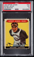 Miscellaneous Collectibles:General, 1933 Sport Kings Irving Jaffee #34 PSA EX 5....
