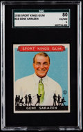 Miscellaneous Collectibles:General, 1933 Sport Kings Gene Sarazen #22 SGC 80 EX/NM 6....