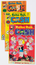 Bronze Age (1970-1979):Cartoon Character, Richie Rich Cash File Copies Long Box Group (Harvey, 1974-82) Condition: Average NM-....
