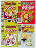 Bronze Age (1970-1979):Humor, Richie Rich Digest Magazine File Copies Long Box Group (Harvey,1980s) Condition: Average NM-....