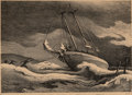 Prints, Thomas Hart Benton (American, 1889-1975). After the Blow. Lithograph. 9-3/4 x 14 inches (24.8 x 35.6 cm) (image). Ed. 25...