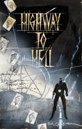 Original Comic Art:Miscellaneous, Bill Sienkiewicz Highway to Hell Preliminary OriginalArtwork (c. 1990s)....