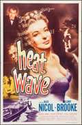"Movie Posters:Crime, Heat Wave & Other Lot (Lippert, 1954). One Sheets (2) (27"" X41""). Crime.. ... (Total: 2 Items)"