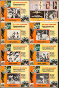 """Movie Posters:James Bond, You Only Live Twice & Other Lot (United Artists, 1968). Mexican Lobby Cards (8) (Approx. 12.25"""" X 16.25""""). James Bond.. ... (Total: 8 Items)"""