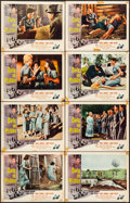 "Movie Posters:Bad Girl, Girls in Prison (American International, 1956). Lobby Card Set of 8(11"" X 14""). Bad Girl.. ... (Total: 8 Items)"