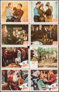 """Movie Posters:Adventure, Call of the Klondike & Others Lot (Monogram, 1950). Lobby Cards(31) (11"""" X 14""""). Adventure.. ... (Total: 31 Items)"""