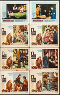 """Movie Posters:Western, One-Eyed Jacks & Other Lot (Paramount, 1961). Lobby Cards (8) (11"""" X 14""""). Western.. ... (Total: 8 Items)"""