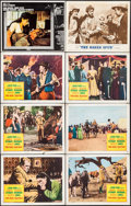 "Movie Posters:Western, Two Rode Together & Others Lot (Columbia, 1961). Lobby Cards(18) & Title Lobby Card (11"" X 14""). Western.. ... (Total: 19Items)"