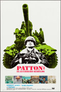 "Movie Posters:War, Patton and Other Lot (20th Century Fox, 1970). Spanish Language OneSheets (2) (27"" X 41""). War.. ... (Total: 2 Items)"
