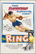 "Movie Posters:Sports, The Ring (United Artists, 1952). One Sheet (27"" X 41""). Sports.. ..."