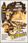 """Movie Posters:Western, War of the Wildcats (Republic, R-1959). One Sheet (27"""" X 41""""). Western.. ..."""