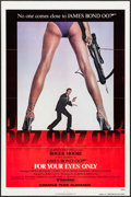 "Movie Posters:James Bond, For Your Eyes Only (United Artists, 1981). One Sheet (27"" X 41"")Advance. James Bond.. ..."