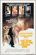 "Movie Posters:James Bond, The Man with the Golden Gun (United Artists, 1974). One Sheet (27""X 41"") Style B. James Bond.. ..."