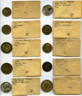 U.S. Presidents & Statesmen, Duplicate Campaign Tokens Including 44 Pieces from EightCandidates. ... (Total: 44 coins)