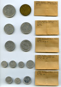 Alaska Tokens, Small but Important Offering of Alaska Good For Tokens: ... (Total: 17 coins)