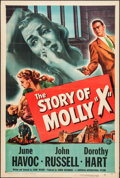 "Movie Posters:Crime, The Story of Molly X & Other Lot (Universal International,1949). One Sheets (2) (27"" X 41""). Crime.. ... (Total: 2 Items)"