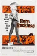 "Movie Posters:Bad Girl, Born Reckless (Warner Brothers, 1959). One Sheet (27"" X 41""). BadGirl.. ..."