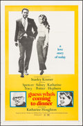 """Movie Posters:Comedy, Guess Who's Coming to Dinner (Columbia, 1967). One Sheet (27"""" X 41""""). Comedy.. ..."""
