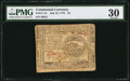 Colonial Notes:Continental Congress Issues, Continental Currency July 22, 1776 $4 PMG Very Fine 30.. ...