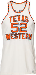 "Basketball Collectibles:Uniforms, 1966 Jerry Armstrong Game Worn Texas Western Miners Jersey from""Glory Road"" Team...."