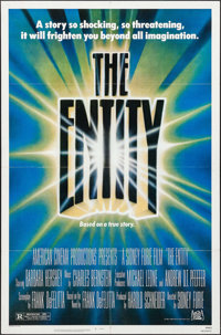 """The Entity & Others Lot (20th Century Fox, 1983). One Sheets (4) (27"""" X 41""""), Commercial Poster (23&qu..."""
