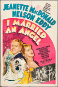 """Movie Posters:Musical, I Married an Angel (MGM, 1942). One Sheet (27"""" X 41"""") Style C.Musical.. ..."""