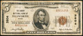 National Bank Notes:Maine, Ellsworth, ME - $5 1929 Ty. 1 The Liberty NB Ch. # 3804. ...