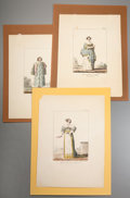 Prints:Contemporary, Group of Twenty Miscellaneous Historical Costume and PortraitPrints. Circa 1900. Various sizes, the largest matted to an ov...