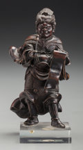 Asian:Japanese, A Japanese Bronze Acala (Wisdom King). 5 inches high (12.7cm) (figure). ...