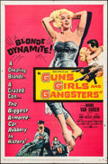 """Movie Posters:Crime, Guns, Girls and Gangsters (United Artists, 1959). One Sheet (27"""" X41""""). Crime.. ..."""