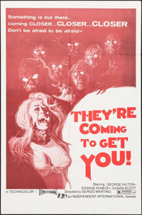 """They're Coming to Get You (Independent-International, 1976). One Sheet (27"""" X 41""""). Horror"""