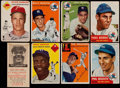 Baseball Cards:Lots, 1953 through 1955 Bowman, Red Man, Topps Star Collection (21). ...