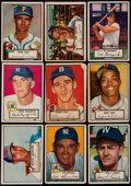 Baseball Cards:Lots, 1952 Topps Baseball Collection (105) with One High Number. ...