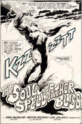 Original Comic Art:Splash Pages, Nestor Redondo Swamp Thing #15 Splash Page 2 Original Art(DC, 1975)....