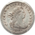 Early Half Dimes, 1800 H10C V-3, LM-2, R.7 -- Cleaning -- PCGS Genuine Secure. AUDetails....