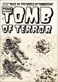 Original Comic Art:Covers, Lee Elias Tomb of Terror #13 Cover Original Art (HarveyComics, 1954)....