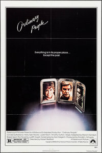 """Ordinary People & Other Lot (Paramount, 1980). One Sheets (2) (27"""" X 41"""") & Mini Lobby Card Sets or 8..."""