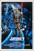"Movie Posters:Science Fiction, Saturn 3 & Other Lot (Associated Film, 1980). One Sheets (2)(27"" X 41""), Photos Set of 9, & Photo Set of 6 (8"" X 10"").Scie... (Total: 17 Items)"