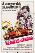 """Movie Posters:Exploitation, Hot Rods to Hell (MGM, 1967). International One Sheet (27"""" X 41"""").Exploitation. International Title: 52 Miles to Terror..."""