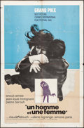 """Movie Posters:Foreign, A Man and a Woman & Other Lot (United Artists, 1966). International One Sheet & One Sheet (27"""" X 41""""). Foreign.. ... (Total: 2 Items)"""
