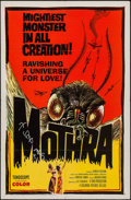 "Movie Posters:Science Fiction, Mothra (Columbia, 1962). Autographed One Sheet (27"" X 41""). ScienceFiction.. ..."