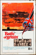 """Movie Posters:War, Battle of Britain & Other Lot (United Artists, 1969). OneSheets (2) (27"""" X 41""""). War.. ... (Total: 2 Items)"""