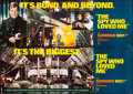 "Movie Posters:James Bond, The Spy Who Loved Me (United Artists, 1977). Banner Set of 4 (21"" X 59""). James Bond.. ... (Total: 4 Items)"