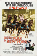 "Movie Posters:Action, Hercules in New York (American International, 1970). One Sheet (27""X 41""). Action.. ..."